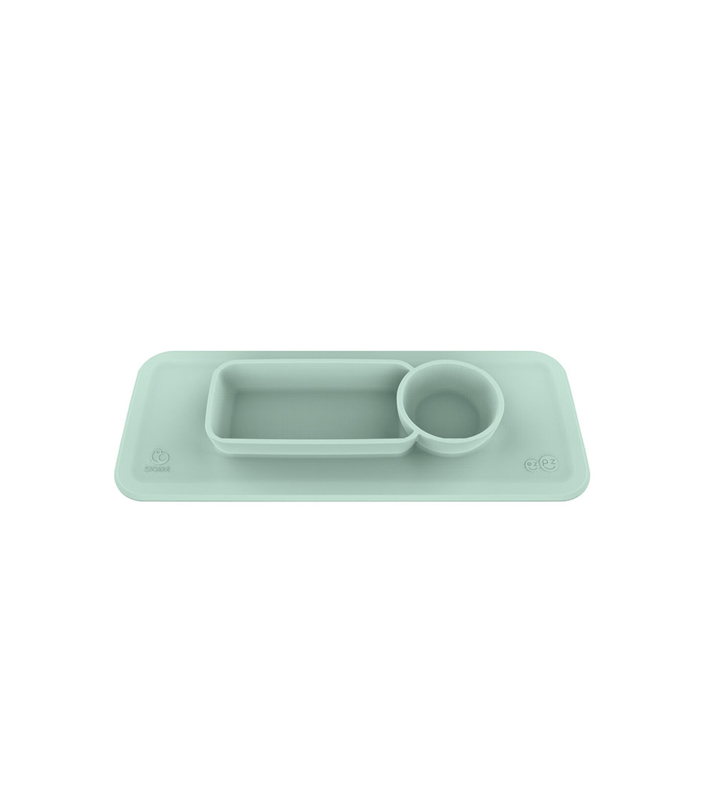 ezpz™ by Stokke™ placemat for Clikk™ Tray Soft Mint, Zacht mint, mainview view 2