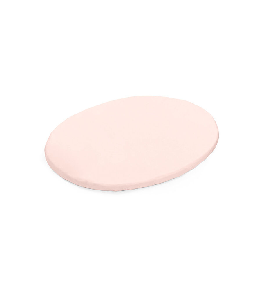 Stokke® Sleepi™ Mini Fitted Sheet. Peachy Pink. US.