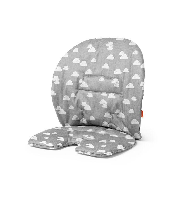 Stokke® Steps™ Baby Set kussen in de kleur Grey Clouds, Grey Clouds, mainview view 1