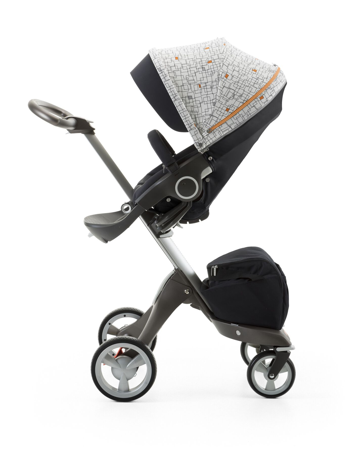 Stokke® Stroller Seat Style Kit Grid with Stokke® Xplory® chassis, Black