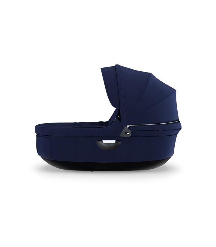 Strokke® Stroller Carry Cot, Deep Blue.