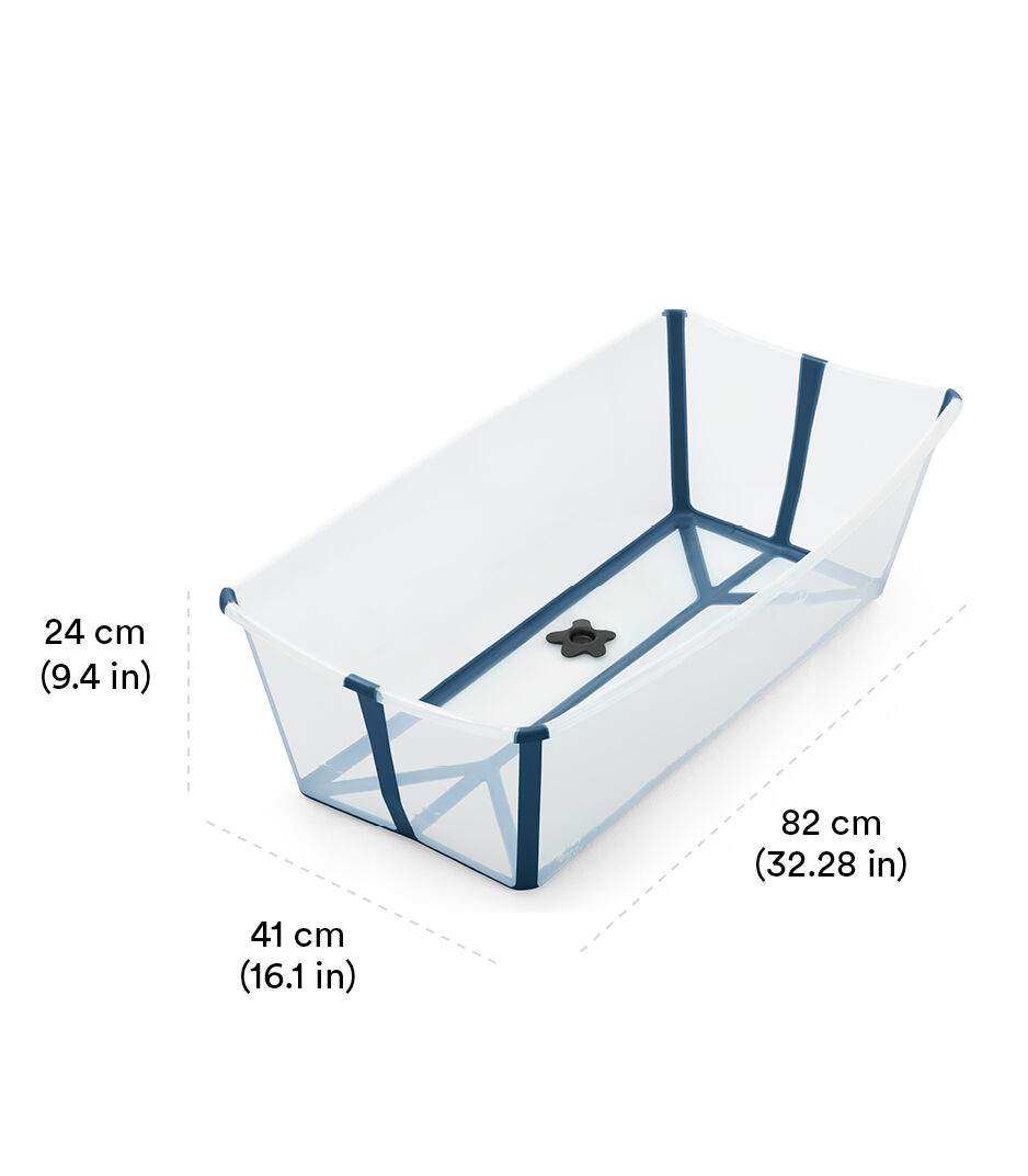 Stokke® Flexi Bath ® Large White Aqua view 1