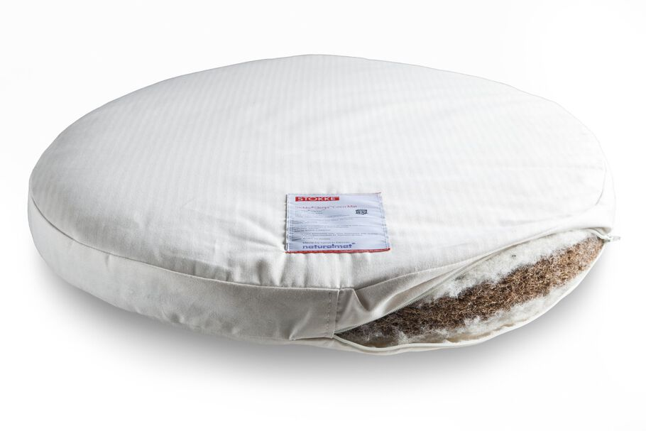 Stokke® Sleepi™ Mini Bed Organic Mattress by Naturalmat (USA).