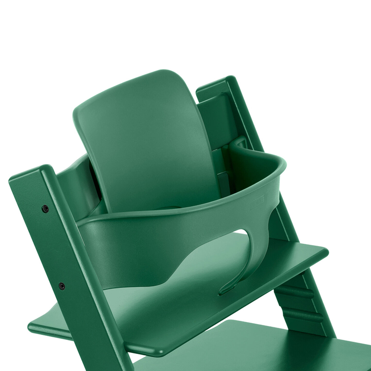 Tripp Trapp®, Forest Green, with Baby Set Forest Green. Detail.