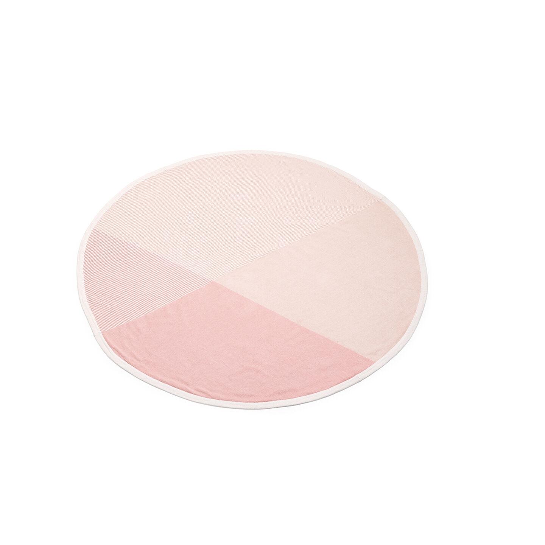 Stokke® Blanket Organic Cotton Knit OCS Pink, Pink, mainview view 1
