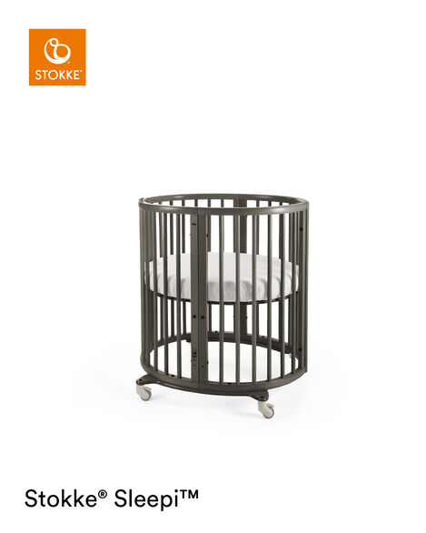 Stokke® Sleepi™ Mini Sáb. Bajera ajustable Blanco, Blanco, mainview view 7