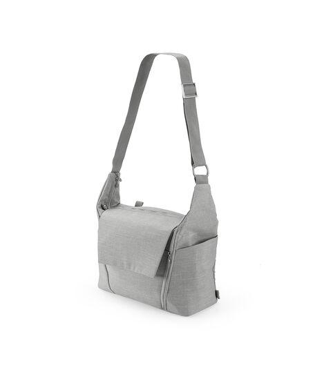 Stokke®, сумка для мамы, цвет Серый меланж (Grey Melange), Серый Меланж, mainview view 4