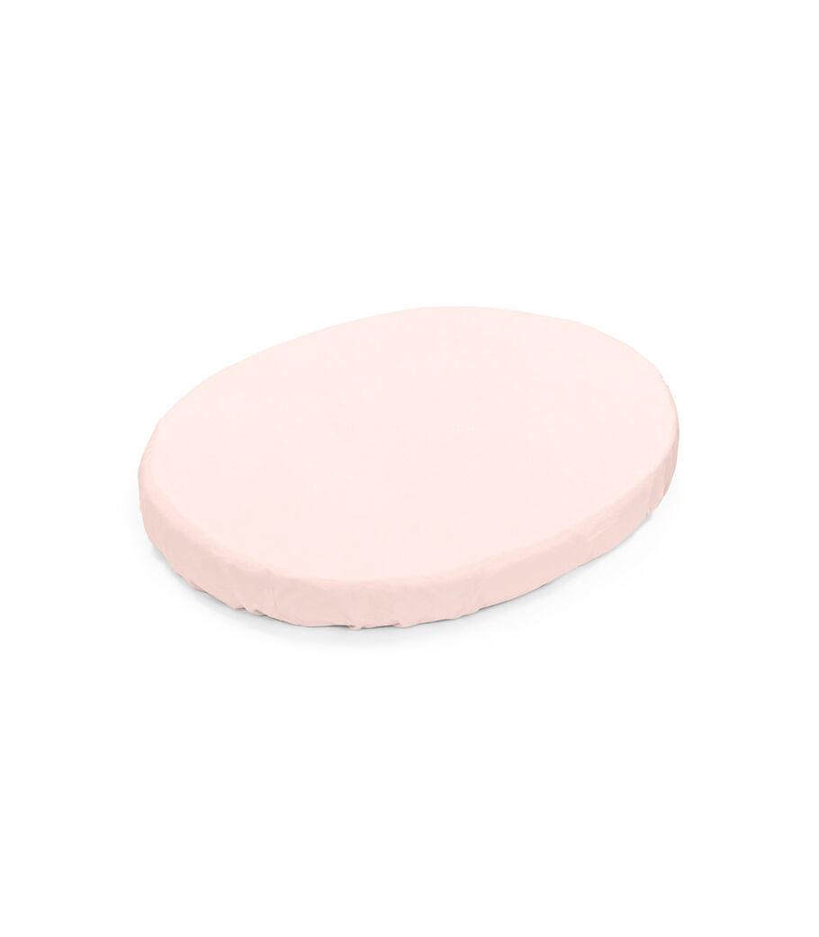 Stokke® Sleepi™ Mini Spannbettlaken, Peachy Pink, mainview view 3