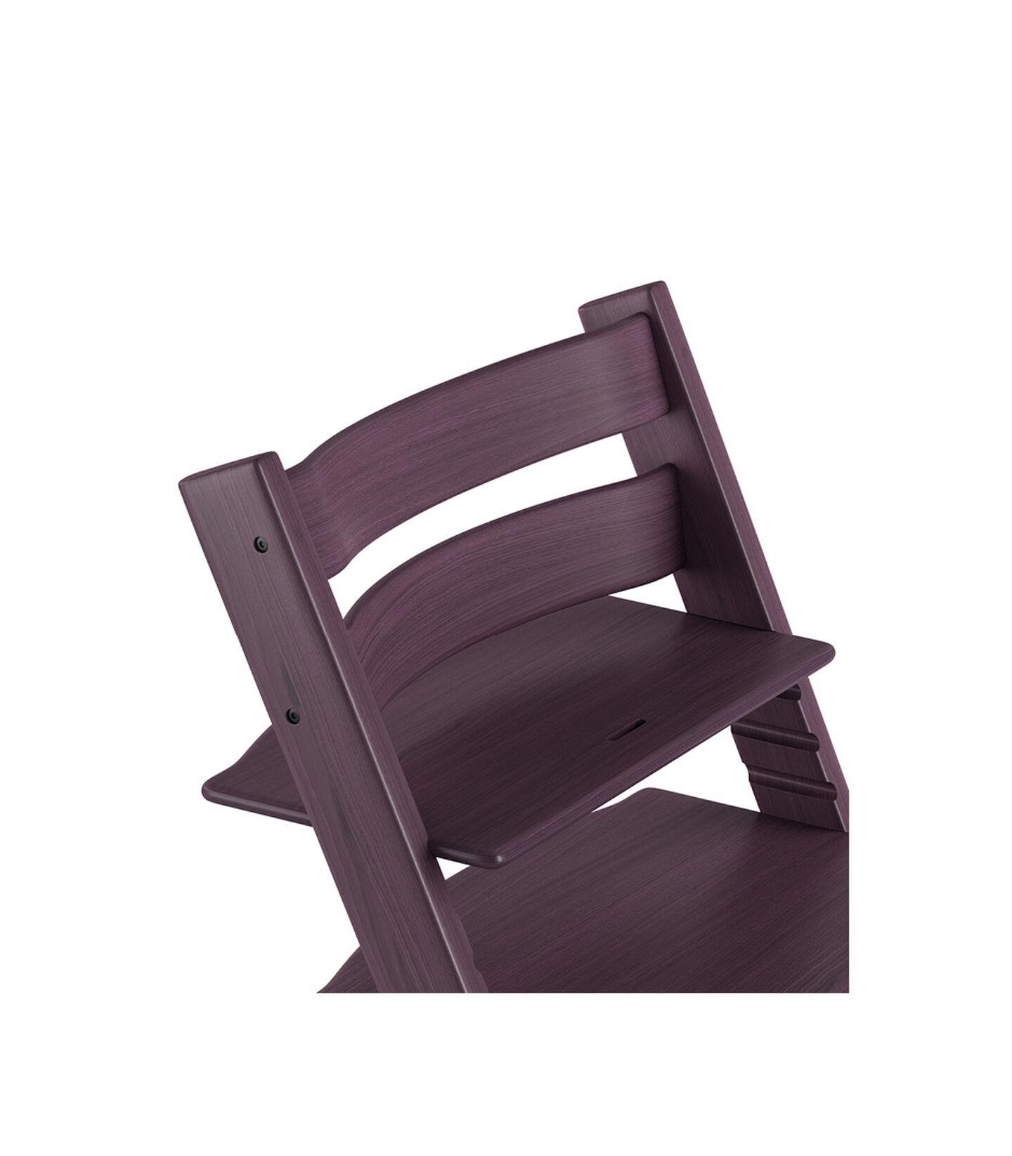 Tripp Trapp® Chair close up 3D rendering Plum Purple