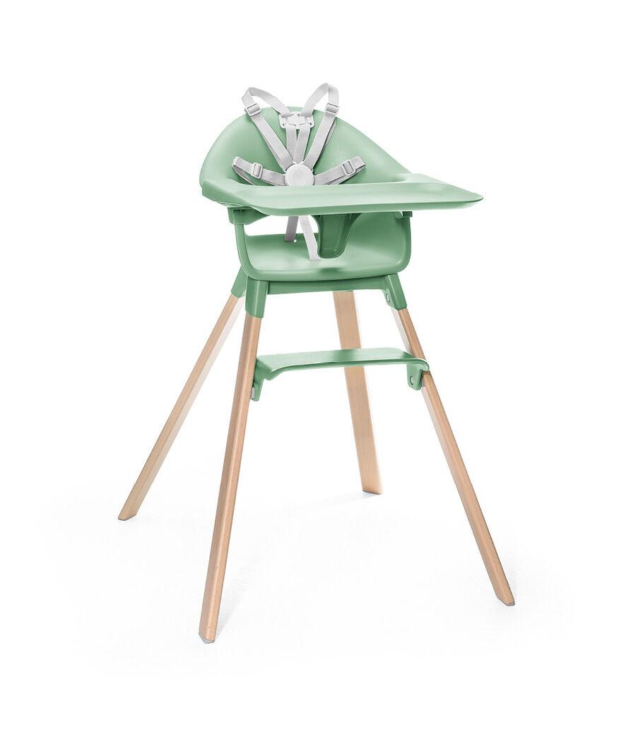 Stokke® Clikk™ 高脚椅, Clover Green, mainview