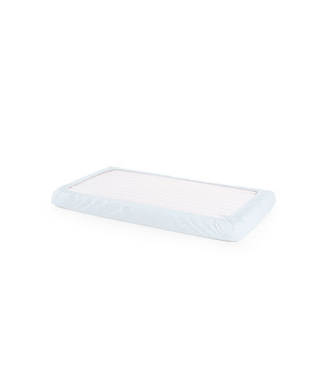 Stokke® Home™ Bed Fit Sheet Blue Sea, Blue Sea, mainview view 3