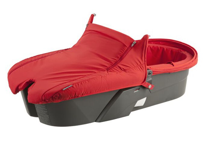 Carry Cot without Canopy, Red. view 1