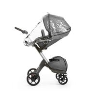 Stokke® Xplroy® With Stokke® Stroller Seat and Rain cover. New wheels 2016.