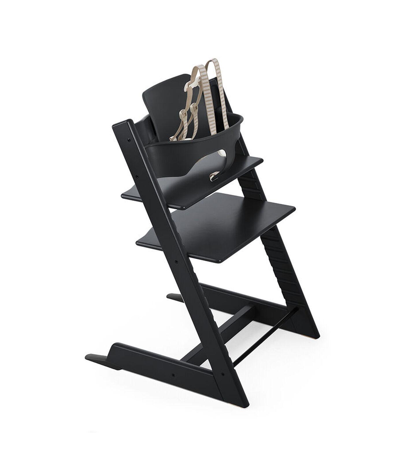 Tripp Trapp® Bundle High Chair US 18 Black, Black, mainview view 1