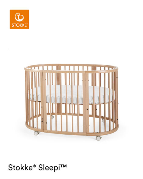 Stokke® Sleepi™ Bed Extension Naturell, Naturel, mainview view 7
