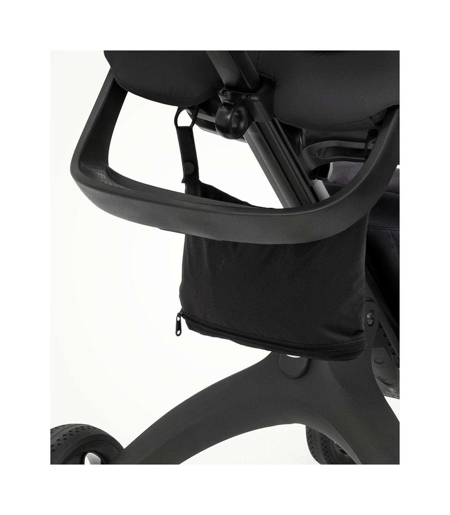 Stokke® Xplory® X Rain Cover Black, Black, mainview view 2