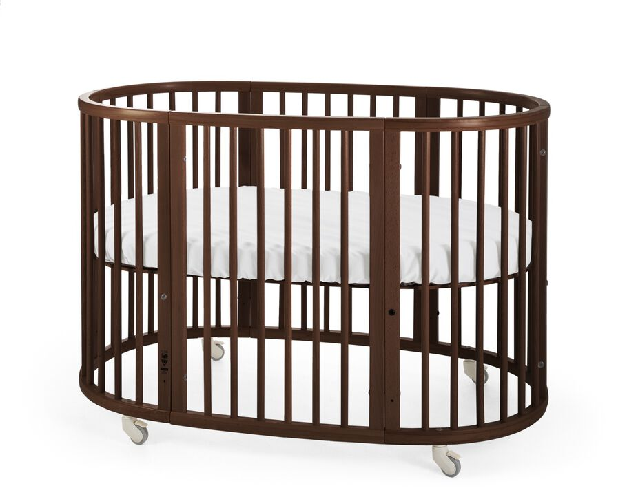 Stokke® Sleepi™ Bed, Walnut Brown.