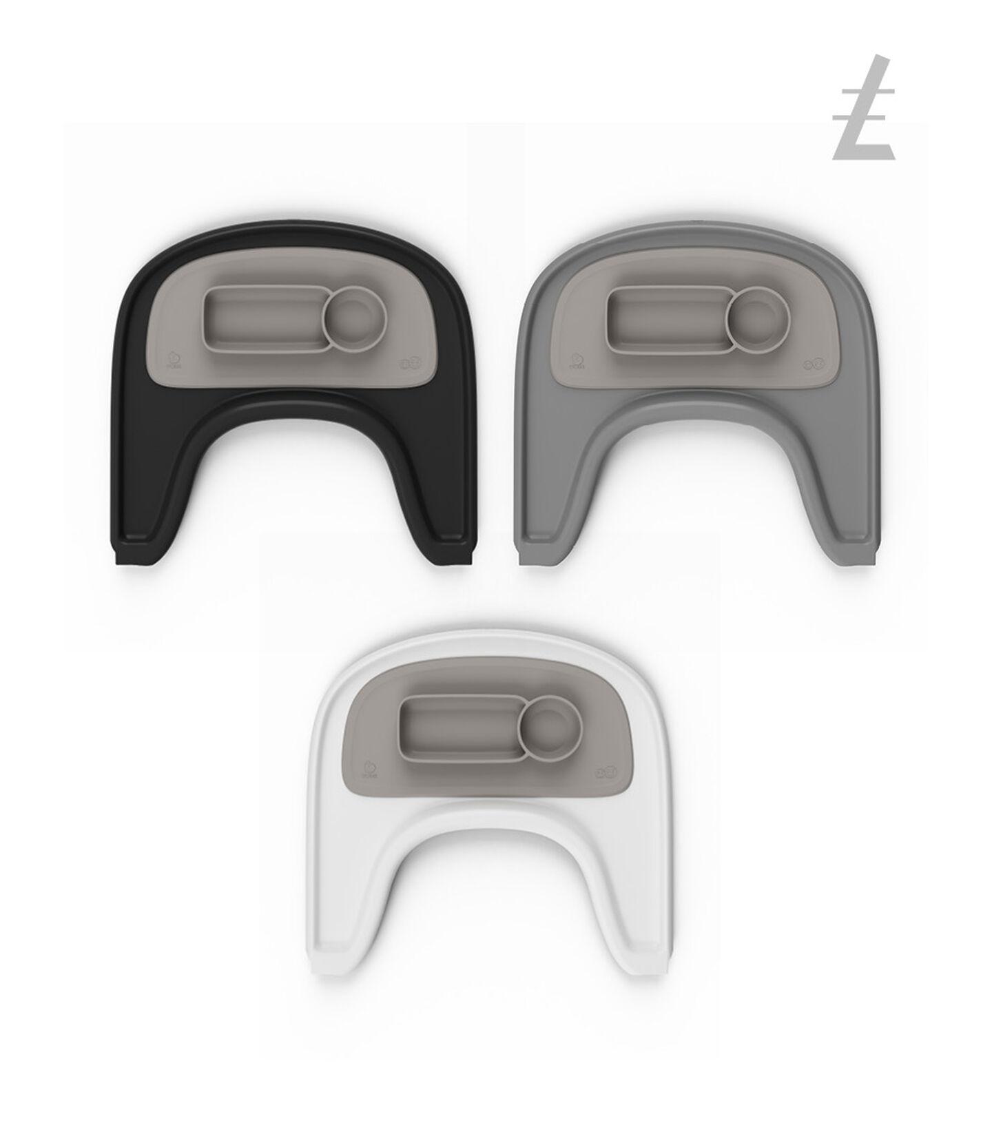 ezpz™ by Stokke®, Soft Grey. Stokke® Tray for Tripp Trapp®. view 4