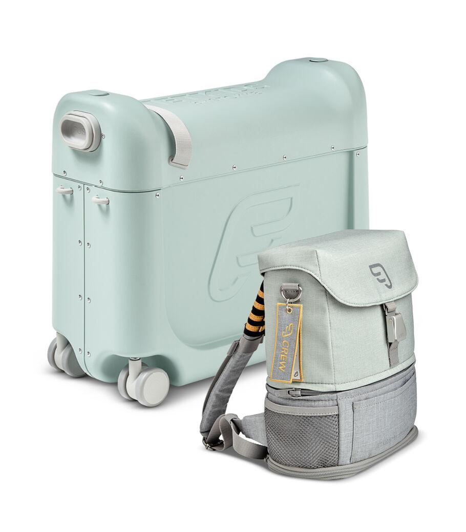 Комплект для путешествий BedBox™ + рюкзак пилота Crew BackPack™, Green / Green, mainview view 5