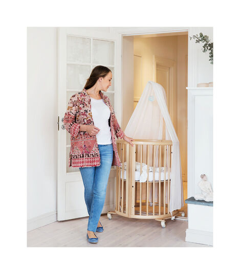 Stokke® Sleepi™ Drape rod Naturell, Naturel, mainview view 3