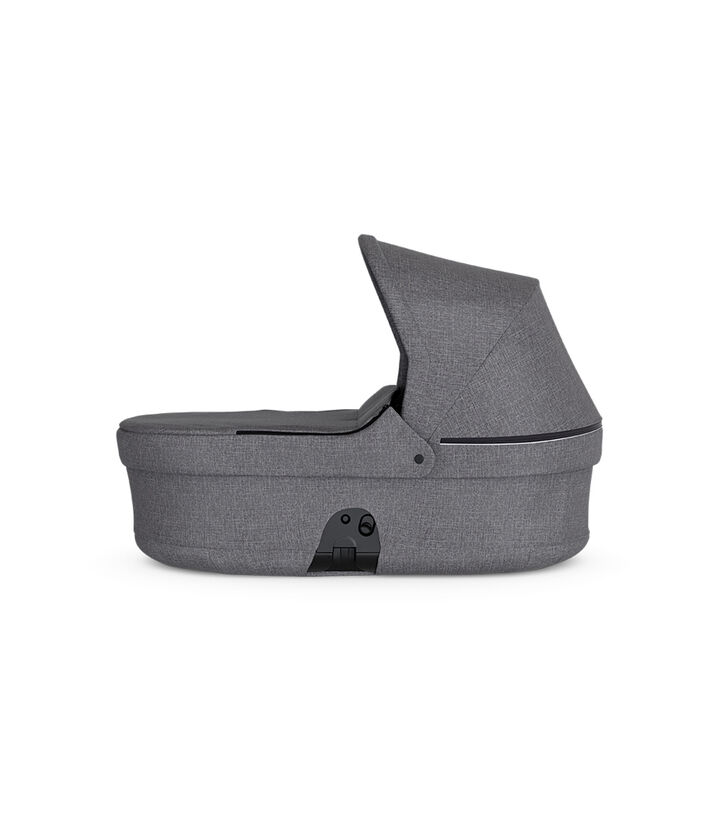 Stokke® Beat™ Carry Cot. Black Melange.