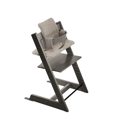 da:,de:,en:Tripp Trapp® Hazy Grey Baby Set and Hazy Tweed Cushion.,en-US:,es:,fr:,it:,ja:,ko:,nl:,no:,pl:,pt:,ru:,sv:,tr:,zh:,zh-CN: view 6