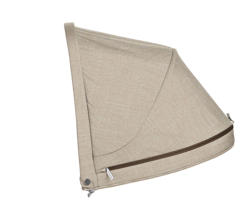 Stokke® Stroller cappottina Beige Melange, Beige Melange, mainview