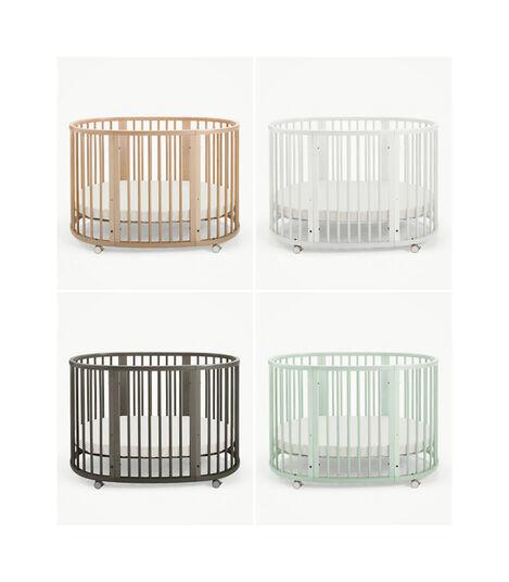 Stokke® Sleepi™ Crib/Bed White, White, mainview view 7