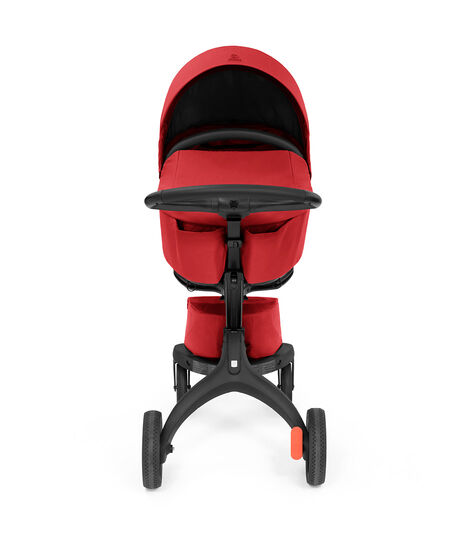 Stokke® Xplory® X Ruby Red Stroller with Seat. view 3