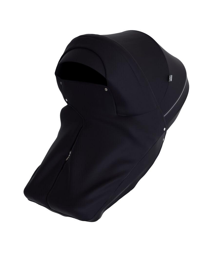 Stokke® Stroller Storm Cover Black.