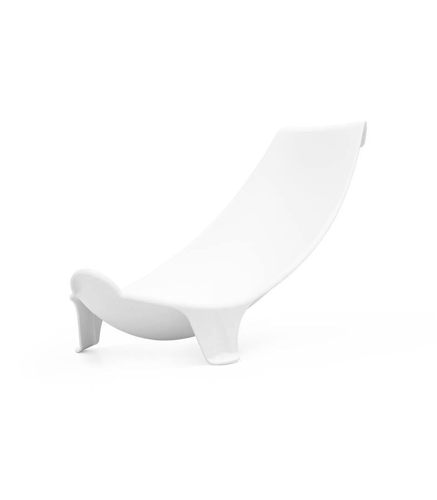 Stokke® Flexi Bath® Newborn Support. Front. view, angeled.