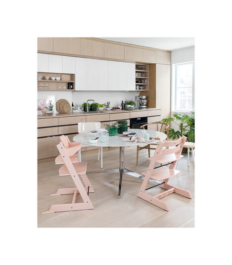 Tripp Trapp® in setting. Serene Pink. view 3