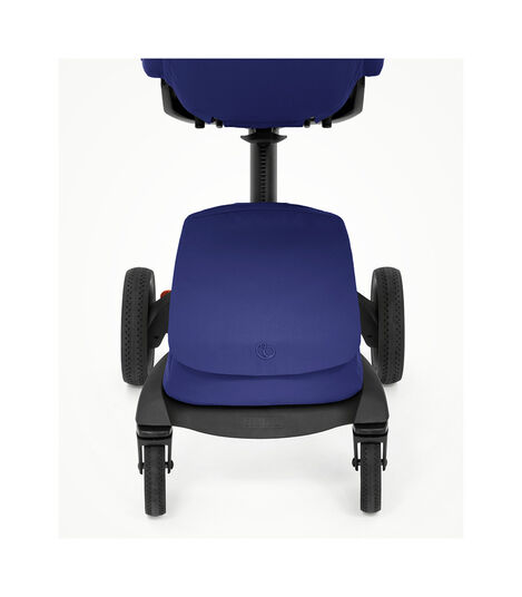 Stokke® Xplory® X Royal Blue Stroller with Seat. view 4