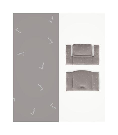 Tripp Trapp® HC Cpl White w Icon Grey Cushion & Tray, White/IconGreyCush+Tray, mainview view 4