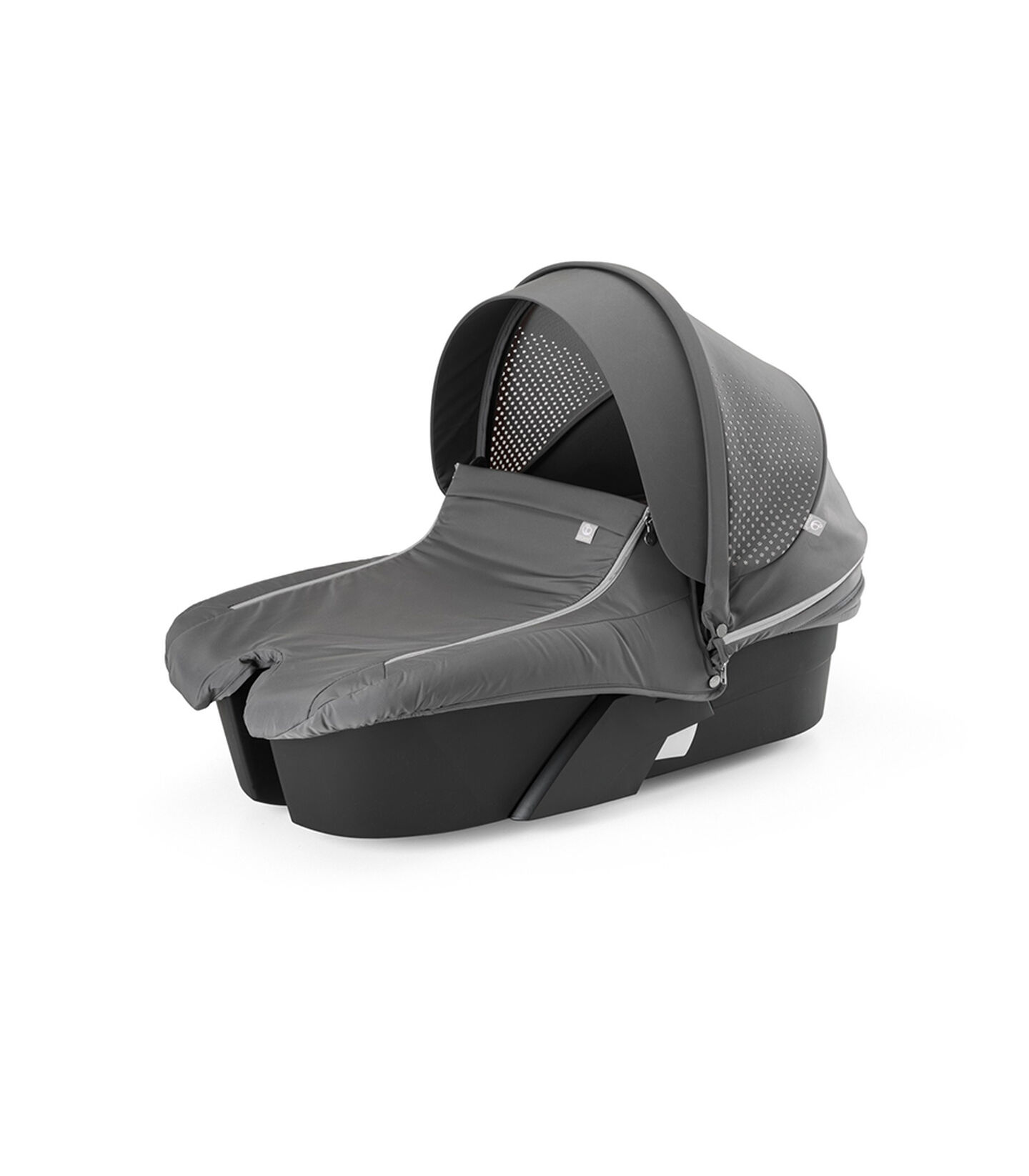 Stokke® Xplory® Carry Cot. Athleisure Grey.