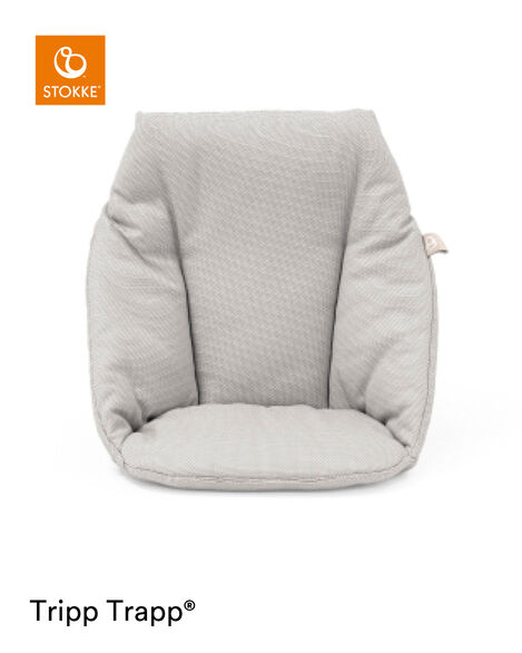 Tripp Trapp® Baby Cushion Timeless Grey OCS, Timeless Grey, mainview view 5