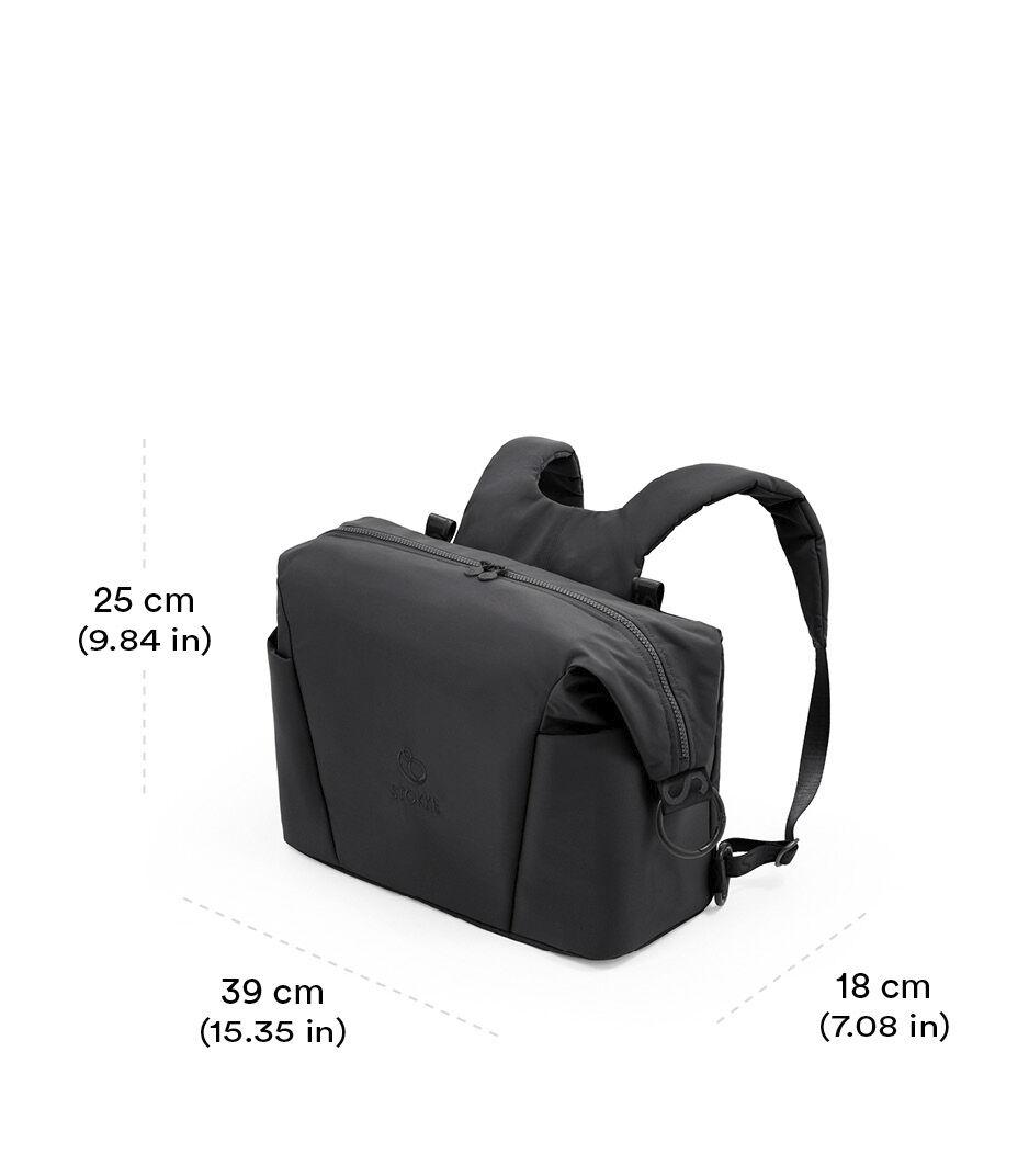 Stokke® Xplory® X Changing bag Rich Black view 1