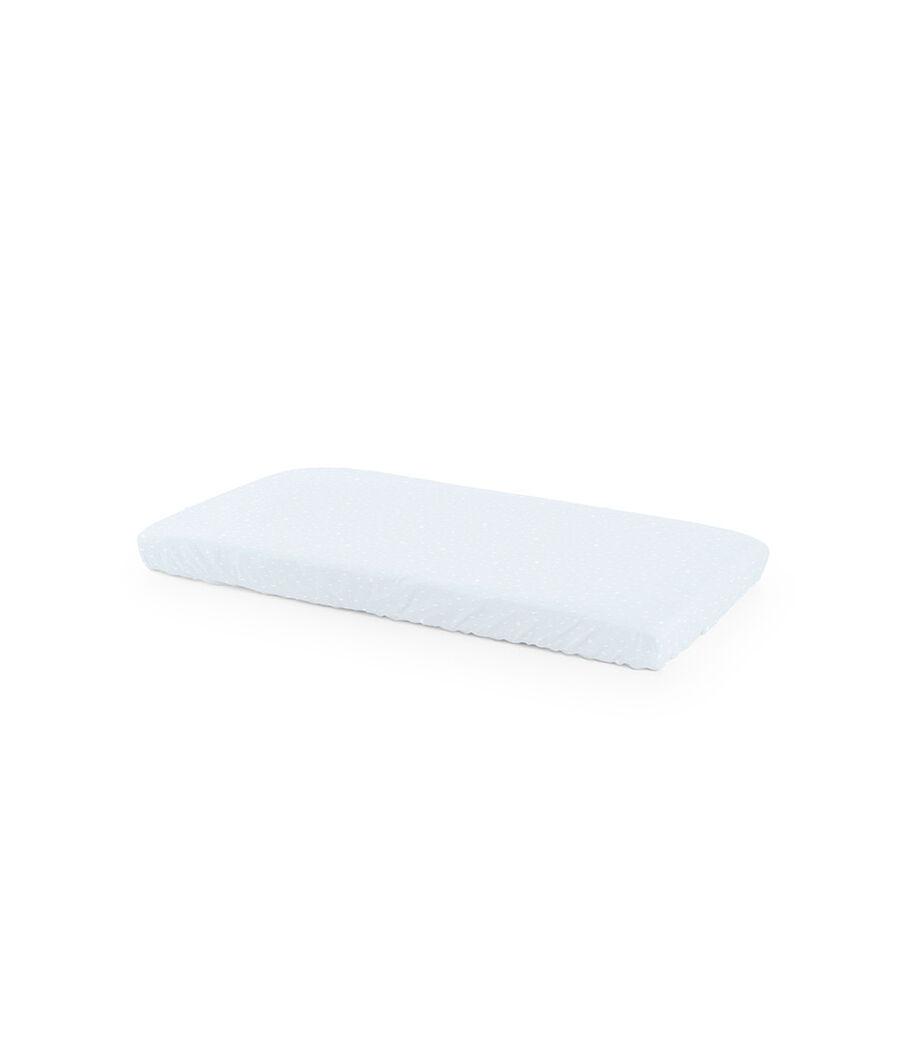 Lot de 2 draps housse pour le lit Stokke® Home™, Bleu océan, mainview