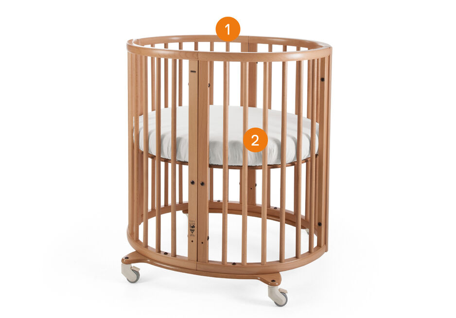 Stokke® Sleepi™ Mini. Items included.