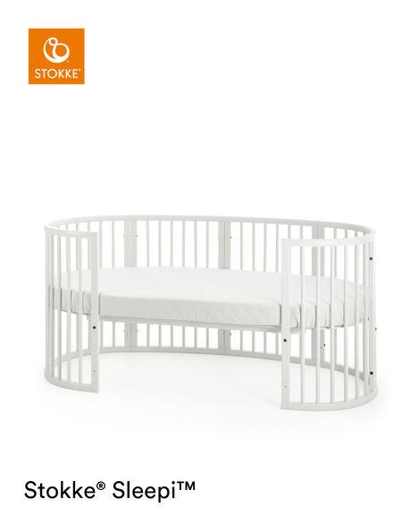 Stokke® Sleepi™ Junior Extension Blanco, Blanco, mainview view 8