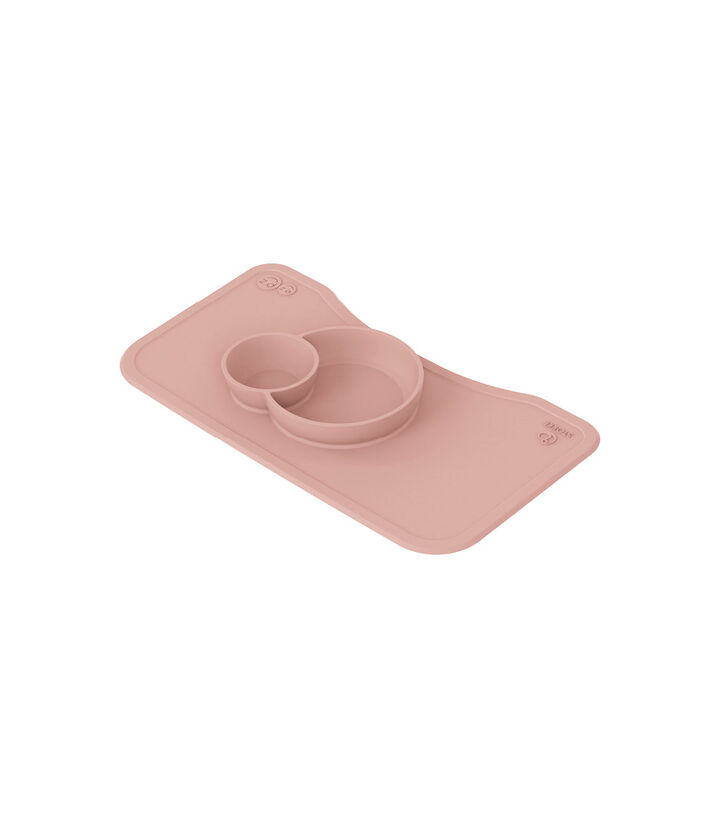 ezpz™ by Stokke™ silicone mat for Steps™ Tray, Pink, mainview view 1