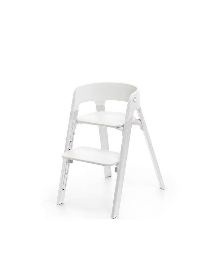 Stokke® Steps™ Chair, Oak White, mainview view 1