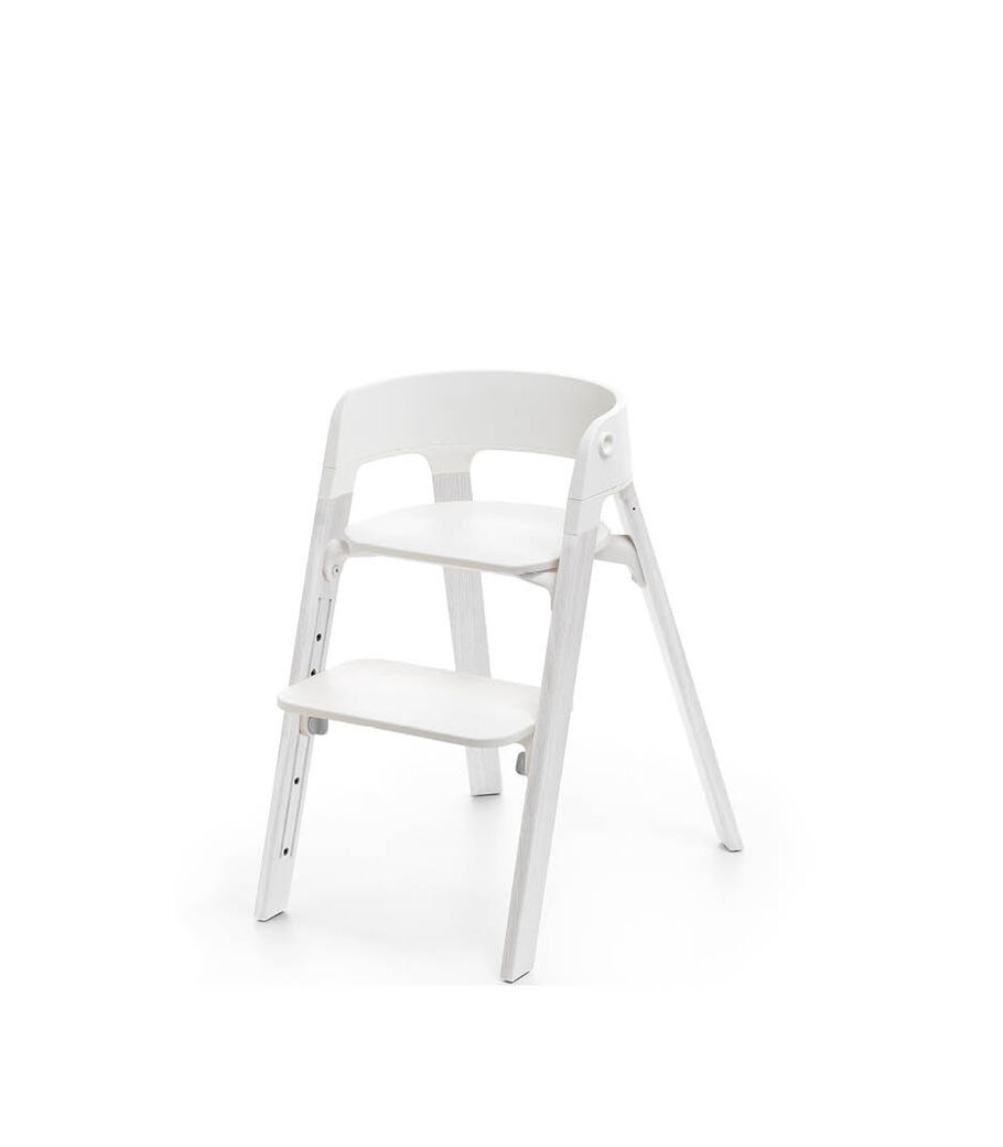 Stokke® Steps™ Chair, Oak White, mainview view 10