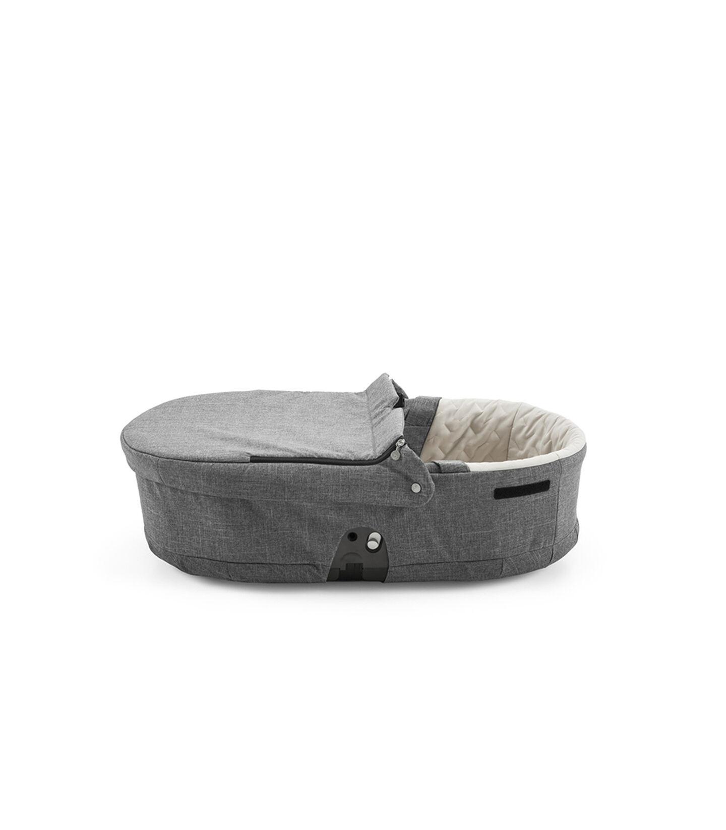 Stokke® Scoot™ Carry Cot, Black Melange.