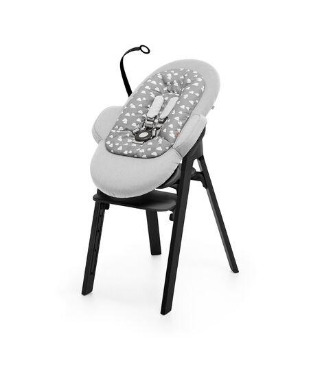Krzesło Stokke® Steps™ Black, Black, mainview view 5
