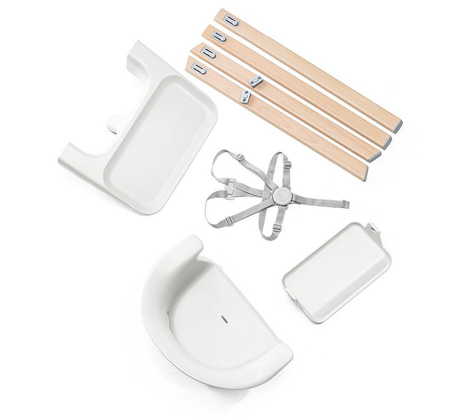 Stokke® Clikk™ High Chair White, Beyaz, WhatsIncl view 1