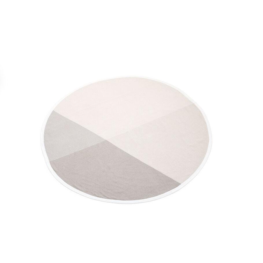 Copertina in maglia di cotone Stokke®, Beige, mainview