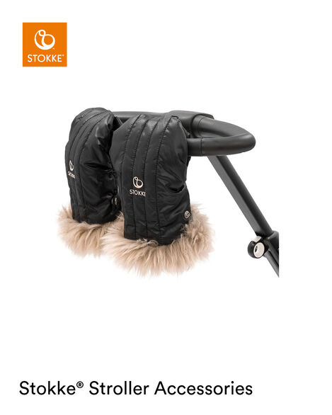 Stokke® Stroller Mittens Onyx Black, Onyx Black, mainview view 7