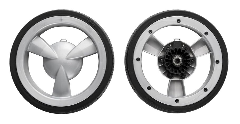 123200 Xplory Back wheel. Spare part.