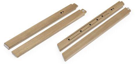 Stokke® Steps™ Wood leg set, Oak Natural. Complete.